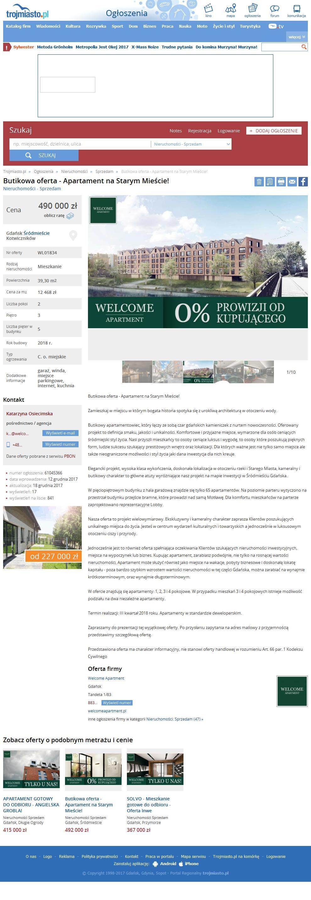 52bffd8622c2c3 https://ogloszenia.trojmiasto.pl/nieruchomosci-sprzedam/butikowa-oferta-apartament-na-starym-miescie-ogl61045366.html?is_mobile=0