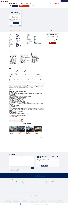 7f92b38ff5645 https   www.otomoto.pl oferta  citroen-c5-2-0i-klimatronik-pnelmatyka-bezwypadek-oplacony-gwarancja-ID6z7YC1.html