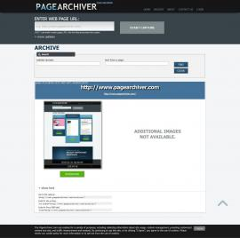 screenshot of http://www.pagearchiver.com/archive/?find=archive&capture=151AB76A-CE72-45EF-B471-963852410A7D