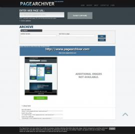 screenshot of http://www.pagearchiver.com/archive/?find=archive&capture=D023241A-0FD4-4426-839E-7B19E4CF2065
