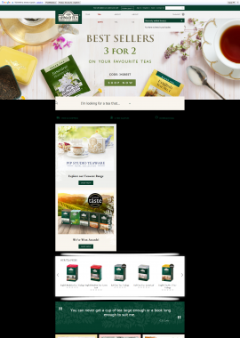 screenshot of https://www.ahmadtea.com/